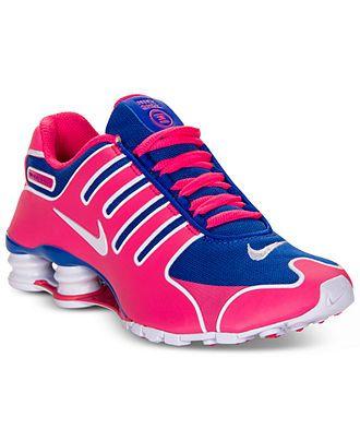 Nike Women's Shoes, Shox NZ NS Running Sneakers - Sneakers - Shoes - Macy's