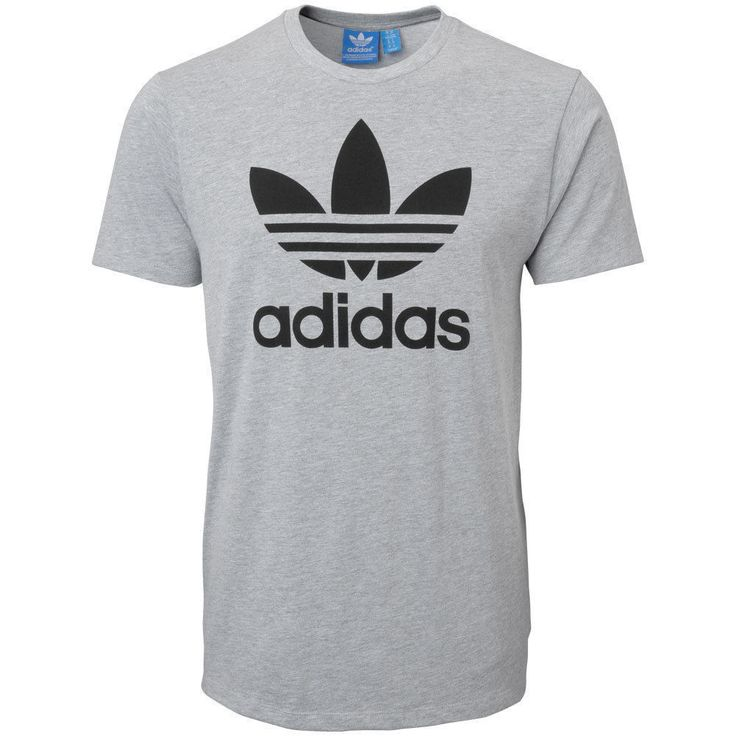 Adidas Originals Adi Trefoil T Shirt Men's x Large MSRP$28 00 Color Gray   eBay