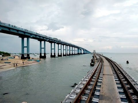 Pamban bridge | India's first sea bridge