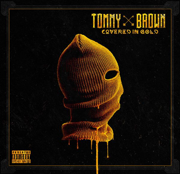 Tommy Brown — Covered in Gold (Album Cover)