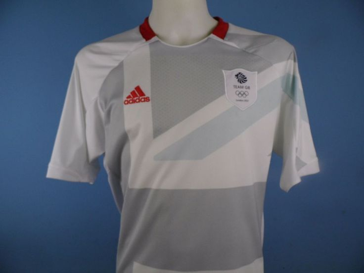 Authentic Team GB Olympic Away Football Shirt Size Medium Adidas