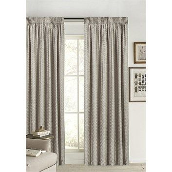 Briscoes - Habitat Mezzo Pencil Pleat Curtains Pair