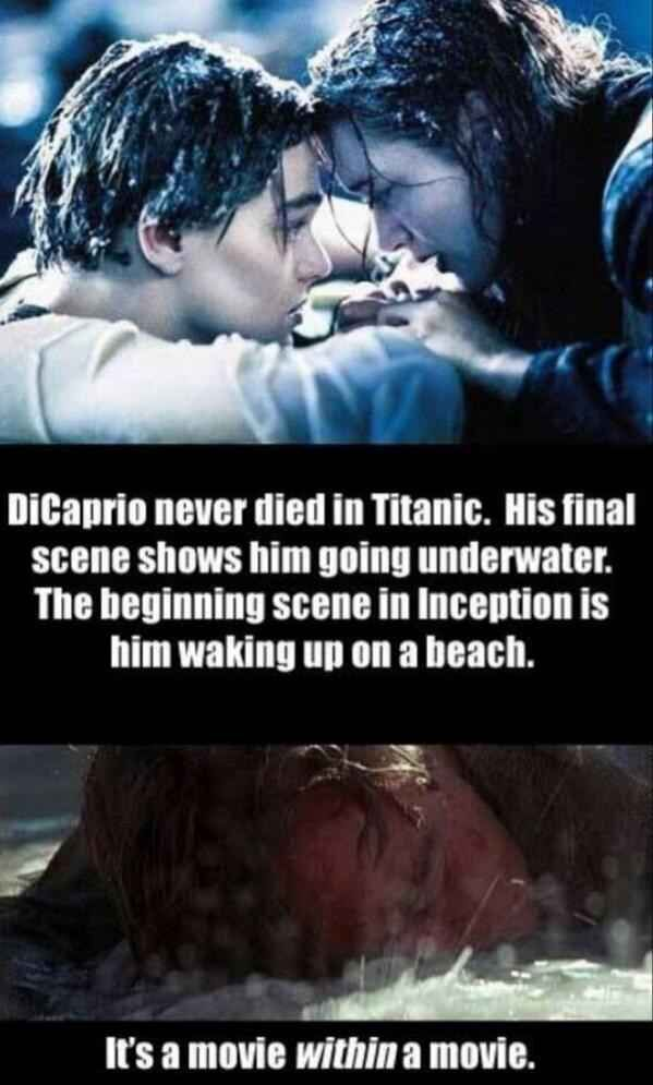 DiCaprio's calculated movie roles. | 17 Important Conspiracy Theories We Need To Be Paying Attention To