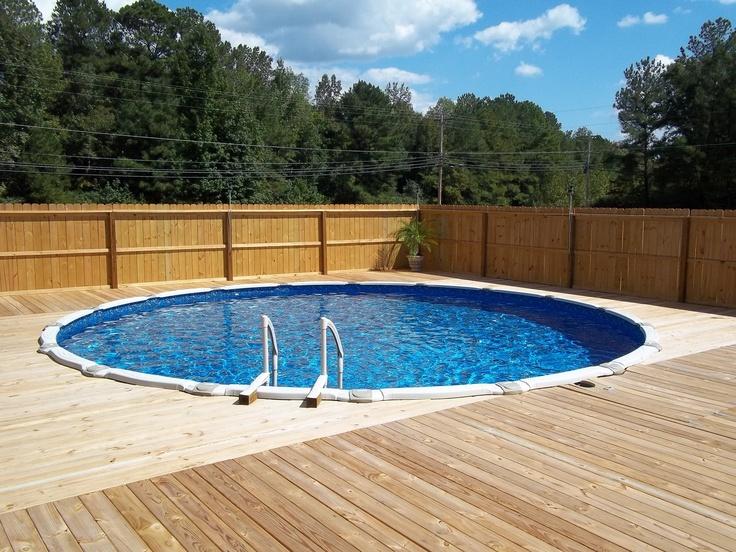 33 best above ground pool designs images on pinterest for Liner piscine vogue