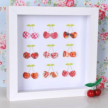 framed paper cherries: Frames Paper, Art Card, Cherries Baby, Frames Red, Crafts Idea, Paper Cherries, Cata-Vento Of Papell, Cherries Stuff, Cherries Art