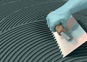 argamassa AC3 cinza é indicada para porcelanatos polidos,naturais e acetinados escuros