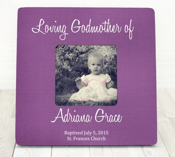 18 best Baptism Gift for Godparents Christening Frame images on ...