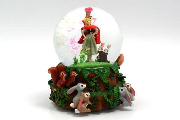 Musical Snow Globes | sleeping beauty musical snow globe snow globe featuring briar rose of ...