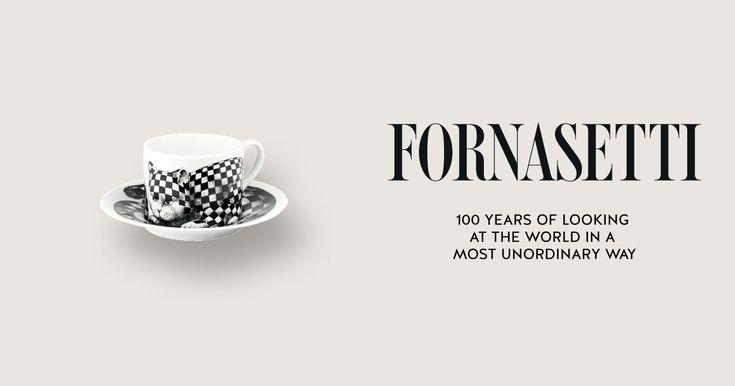 Tea Cup High Fidelity - Quadrettato by Fornasetti.