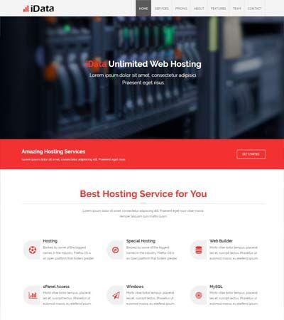Hosting-Free-Bootstrap-Responsive-Webiste-Template