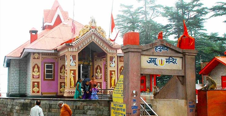 About an important temple of Hindus, the Jakhoo Temple