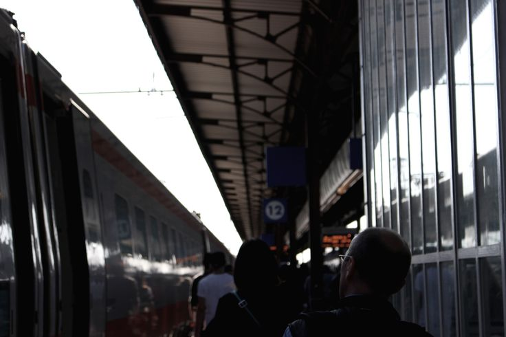 LET'S GO   #URBAN #PEOPLE #PHOTOGRAPHER #STATION #ITALY