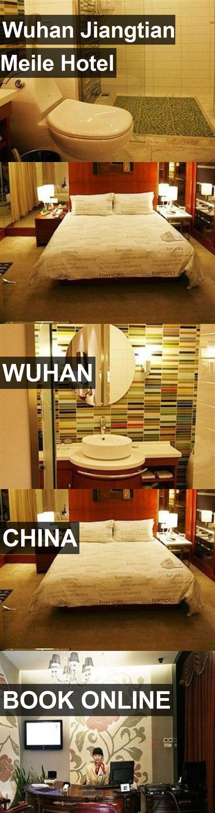 Hotel Wuhan Jiangtian Meile Hotel in Wuhan, China. For more information, photos, reviews and best prices please follow the link. #China #Wuhan #WuhanJiangtianMeileHotel #hotel #travel #vacation