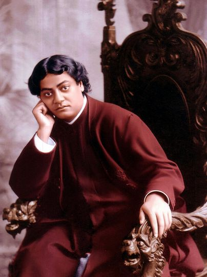 """""""All differences in this world are of degree, and not of kind, because oneness is the secret of everything."""" - SWAMI VIVEKANANDA"""