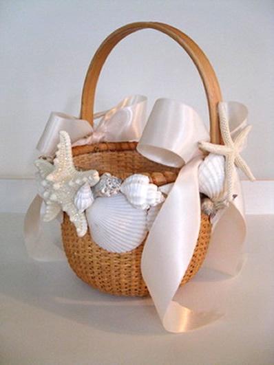 Flower Girl Baskets On Pinterest : Flower girl basket girls and nantucket style on
