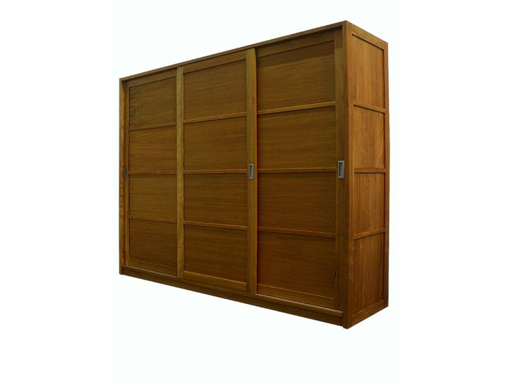 This piece combines contemporary good looks with the rustic beauty of the teak wood to create a functional yet stunning piece to compliment any bedroom.  Dimensions : 180X55X200cm