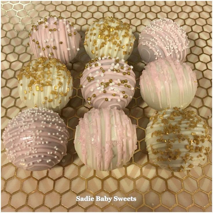 cake pop ideas wedding shower%0A Soft and pretty Bridal Shower Cake balls