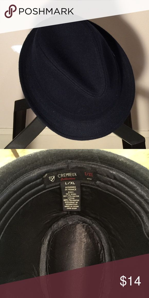 WOOL Fedora Navy Blue PRICE WILL BE REDUCED ON FRIDAY NOV 18. Daniel Cremieux L/XL. Wool hat would be great with a trench coat or pea coat in the dead of winter. Very classic. Frank Sinatra. Check out my other hats if you are interested in bundle-ing! Make me an offer! Daniel Cremieux Accessories Hats