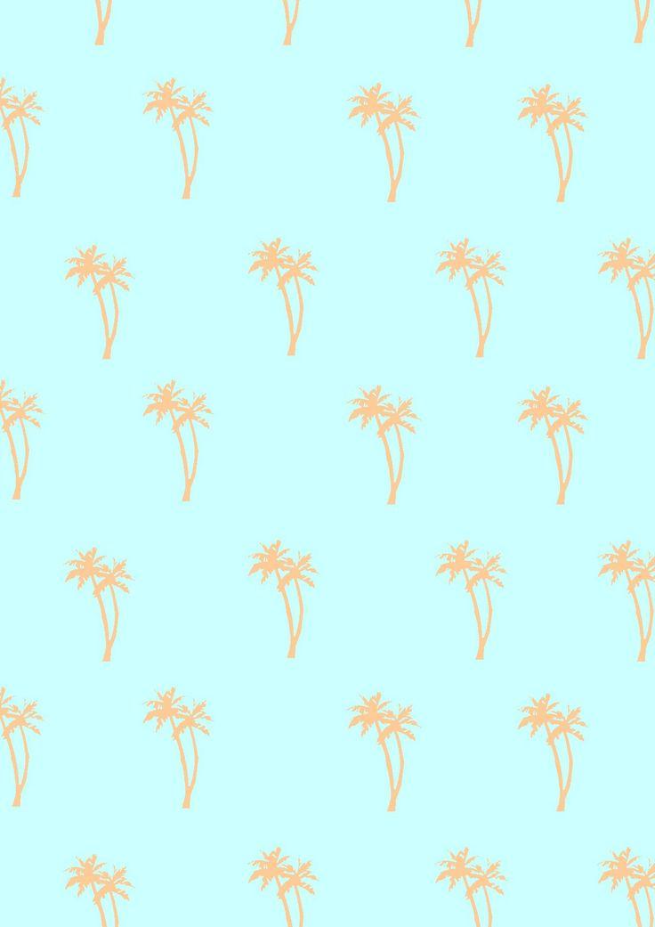 MATHILDE JULAN : Mint Palm trees