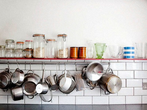 designsponge kitchen shelf inspiration #designsponge #shortbite