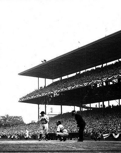 Babe Ruth Batting At Wrigley Field 1932 | by Photoscream