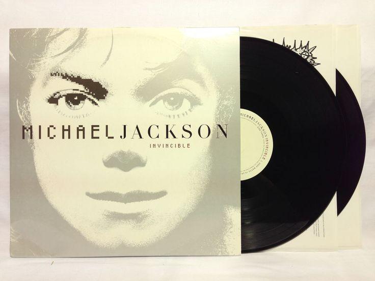 "Michael Jackson ""Invincible"" Vinyl Record Album Set Original Label w/Promo"