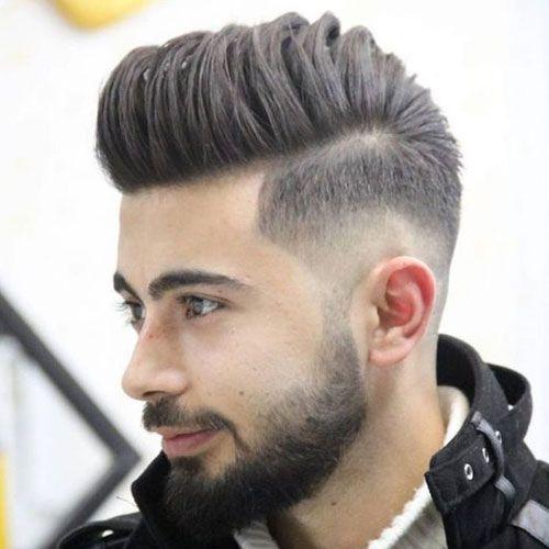 Comb Over Taper Fade Haircuts