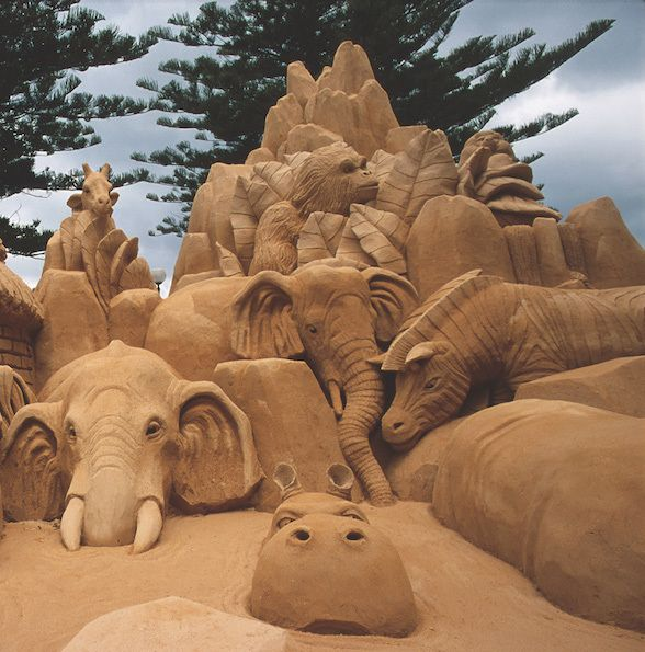 Adelaide WeekendNotes - 'A Day at The Zoo' Sand Sculpting Exhibition - Adelaide