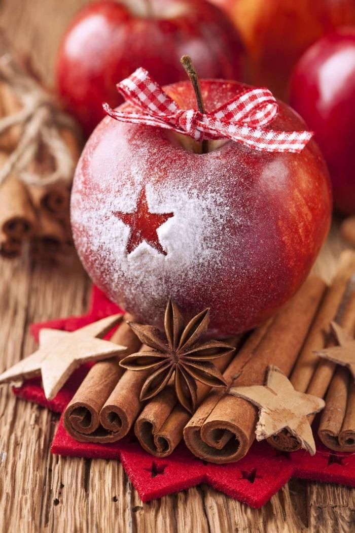 apple xmas deco