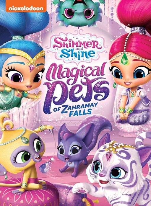 "#Giveaway: Win the DVD ""Shimmer and Shine: Magical Pets of Zahramay Falls"" (Ends 9/29)"
