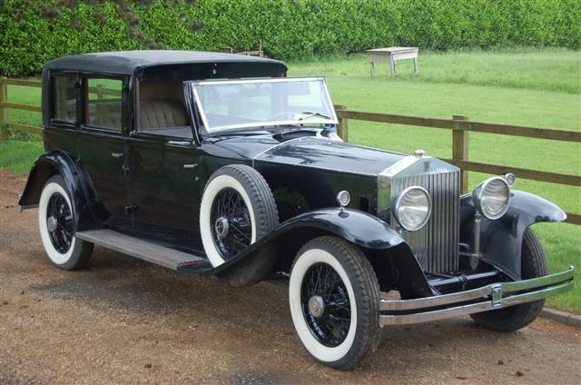 1931 Rolls-Royce Phantom II Keswick Town Car by Brewster