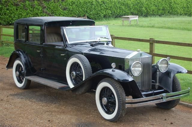 1931 Rolls-Royce Phantom II Keswick Town Car by Brewster