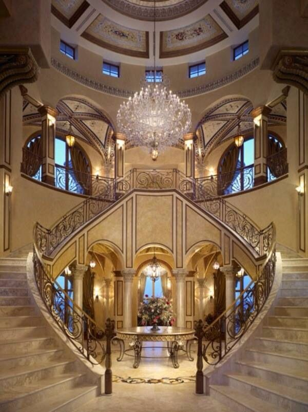 17 best images about staircases on pinterest new home for Grand staircase design