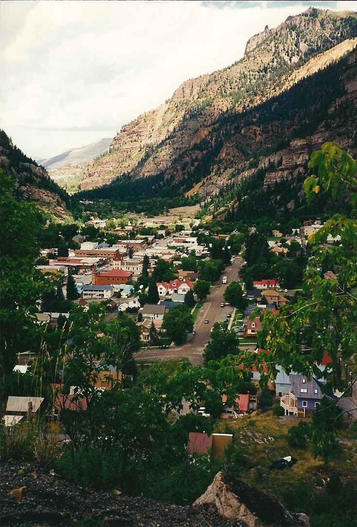 Ouray, Colorado - Little Switzerland of America. 9na