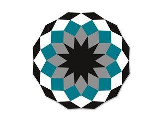 Tappeto optical rotondo per esterni MARQUIS Tappeto