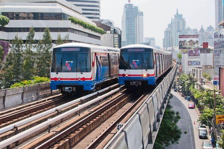 How to get around Bangkok by BTS Bangkok, MRT Bangkok & Bangkok Airport Rail Link?