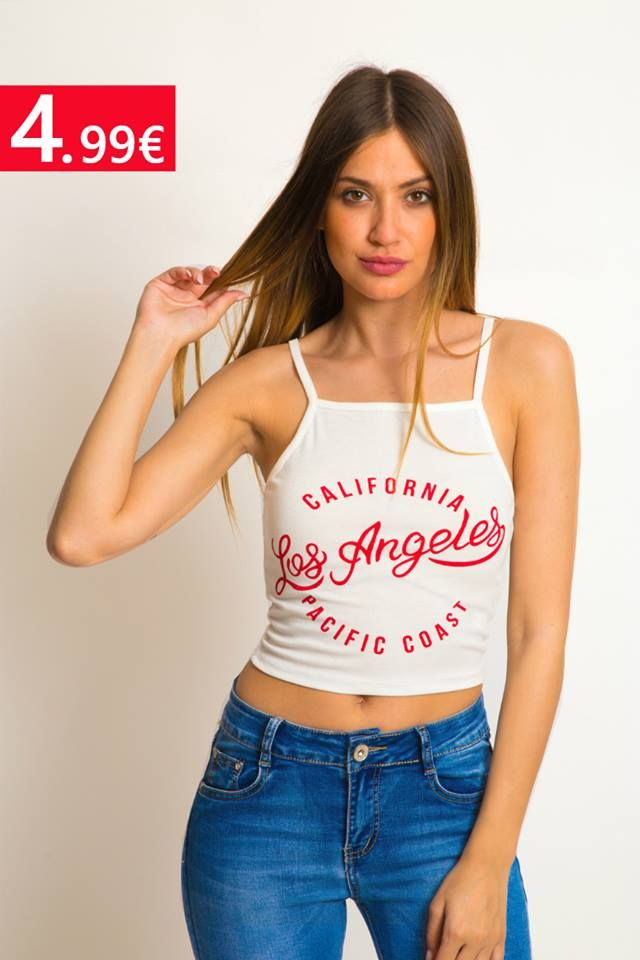 Crop tops μόνο 🔖4,99€ ❣ SHOP IT ➡ https://bit.ly/2JephBB ☎ 2310524549 www.basefashion.gr #fashionista #fashionable #stylish #instyle #fashionaddict #bestoftheday #dontmissit #passionforfashion  #fashionablelife