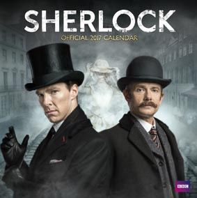 New Official Sherlock 2017 Calendar available with FREE UK P&P (plus worldwide delivery available) at http://bit.ly/TVCals2017