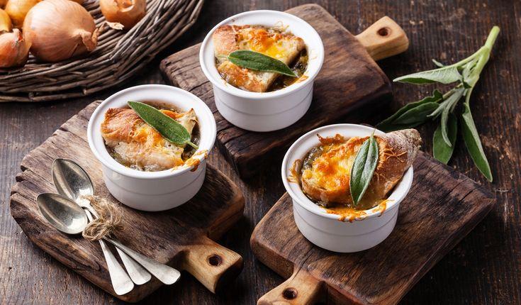Парижский луковый суп