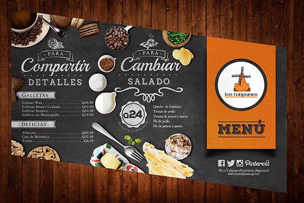 20+ Beautiful Restaurant, Cafe and Food Menu Designs for Inspiration