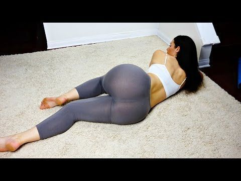Best Butt & Thigh Workout -- At Home -- No Equipment - YouTube