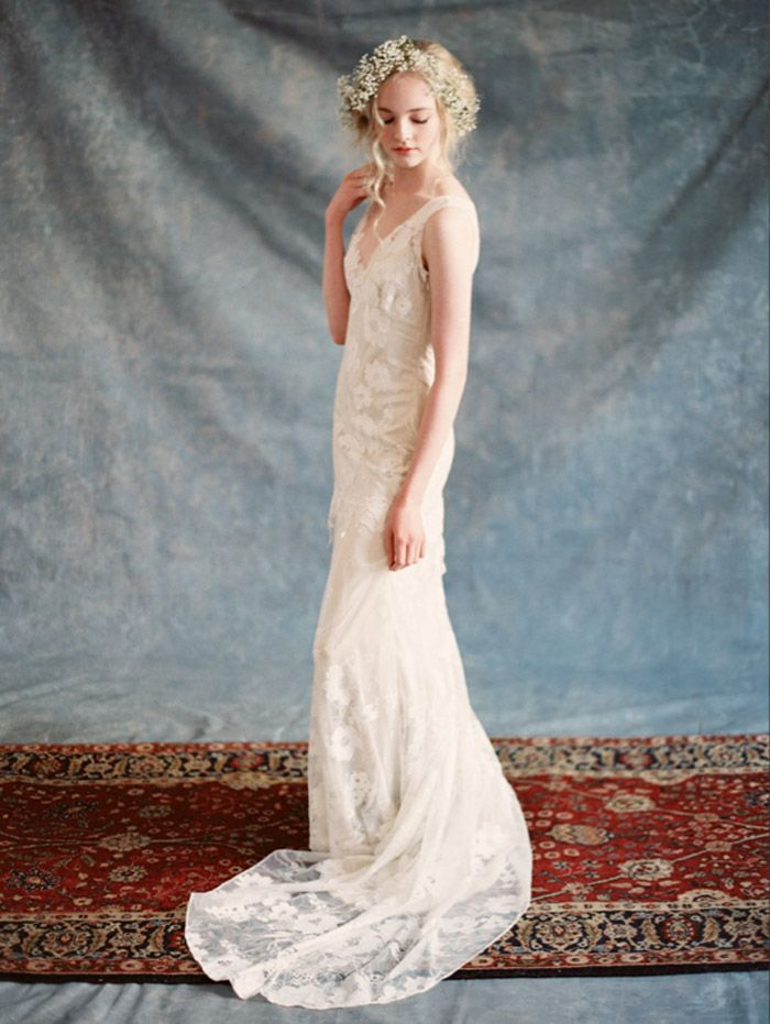 Romantique von Claire Pettibone Spring 2015 Bridal Collection – Die Hochzeit …   – WEDDING DRESSES HERE AND THERE, NOW AND THEN