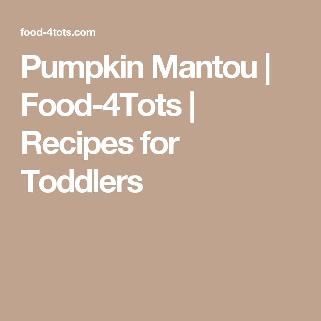 Pumpkin Mantou | Food-4Tots  |  Recipes for Toddlers