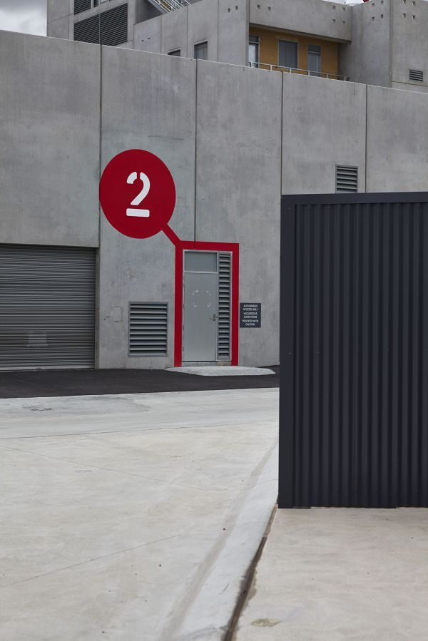 Bold signage at an award-winning emergency services training facility in Melbourne, Australia. Click image for link to full story and visit the slowottawa.ca boards >> https://www.pinterest.com/slowottawa/