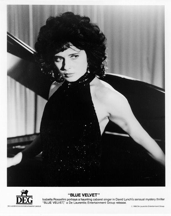 Isabella Rossellini by Umberto Montiroli in Blue Velvet directed by David Lynch, 1986