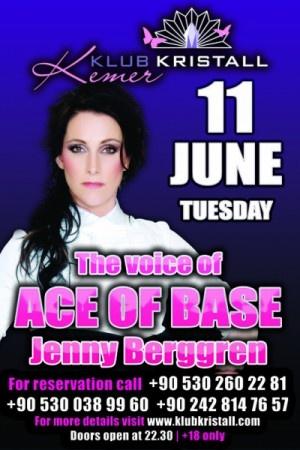 Poster for nightclub gig in Antalya, Turkey. 11 June 2013.