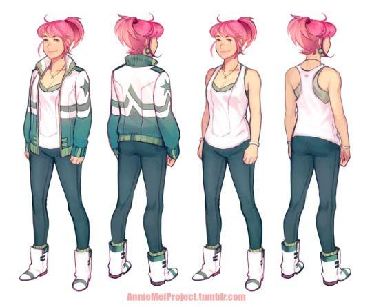 Λnnie Mei Project. Character clothes help