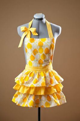 Apron so cute for gifts!