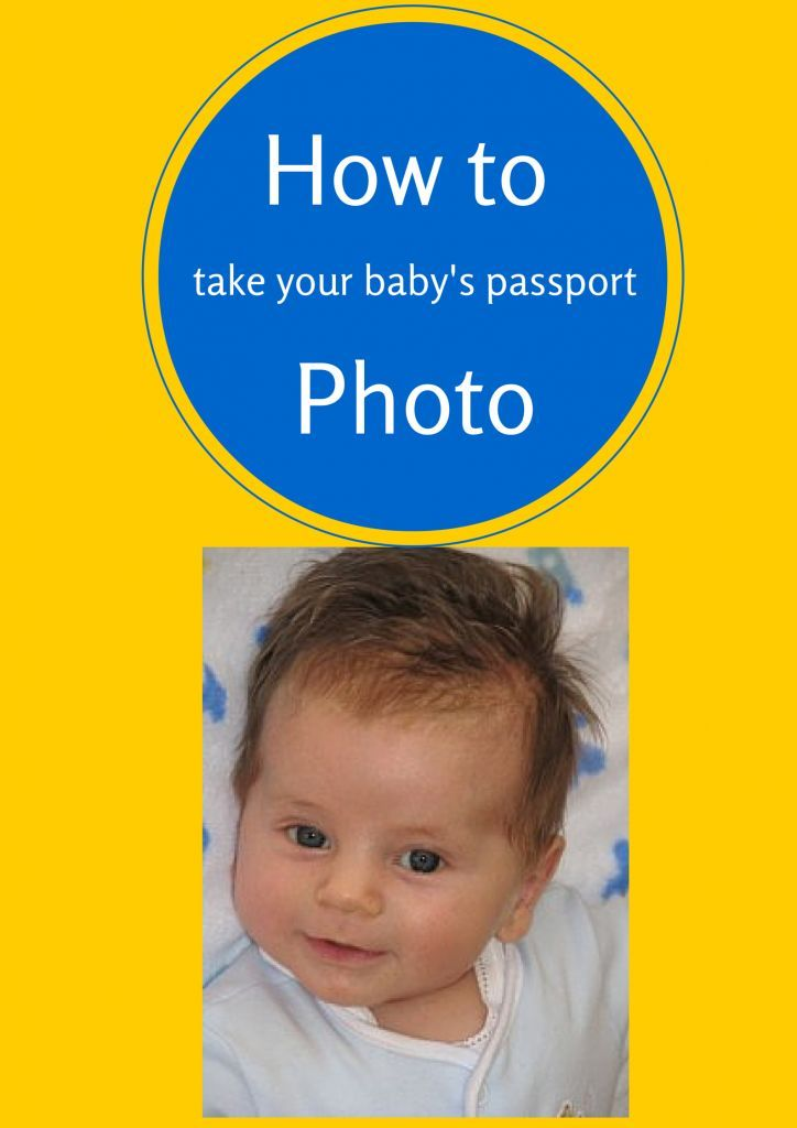 How to take your baby's passport photo (It's not easy!)