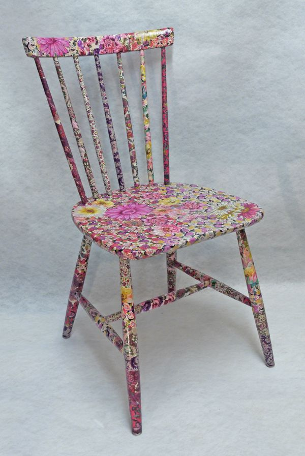 decoupage furniture | Shop » Chairs » FONDANT Chair